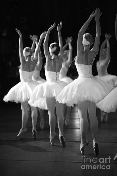 Young Adult Wall Art - Photograph - Ballerinas On The Stage by Anna Jurkovska