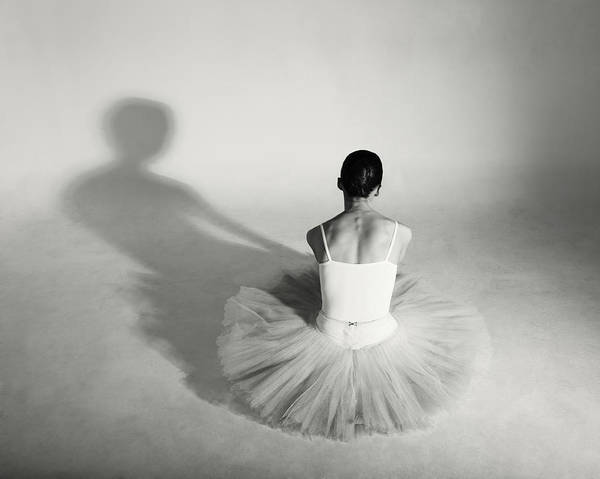Lambada Photograph - Ballet Dancer In Tutu by Lambada