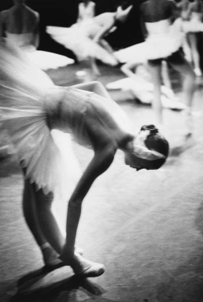 Side View Photograph - Ballet Dancer Preparing To Dance In by Lisa Blalock