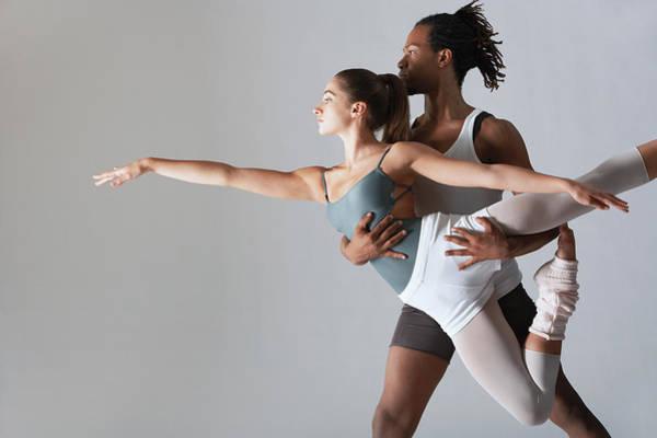 Wall Art - Photograph - Ballet Dancer Supporting Ballerina by Moodboard