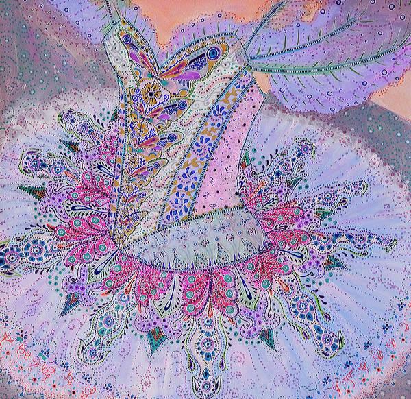 Mixed Media - Ballet by Ellie Perla