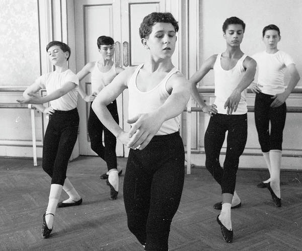 Teenager Photograph - Ballet For Boys by John Drysdale
