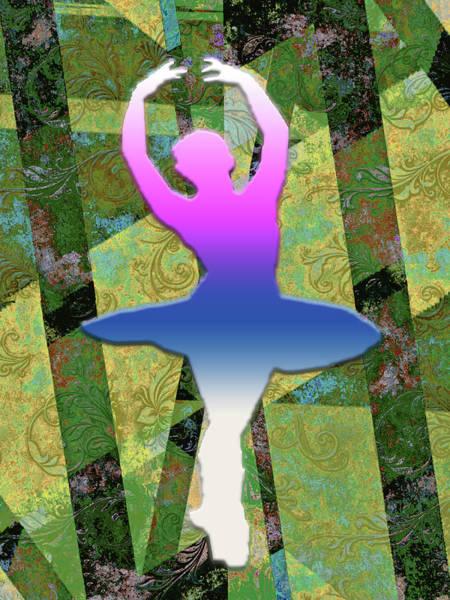 Digital Art - Ballet In Motion by Carlos Diaz