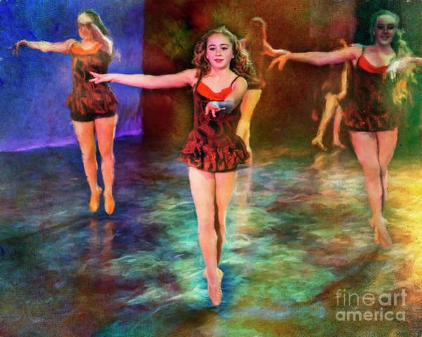 Photograph - Ballet Rehearsal by Craig J Satterlee