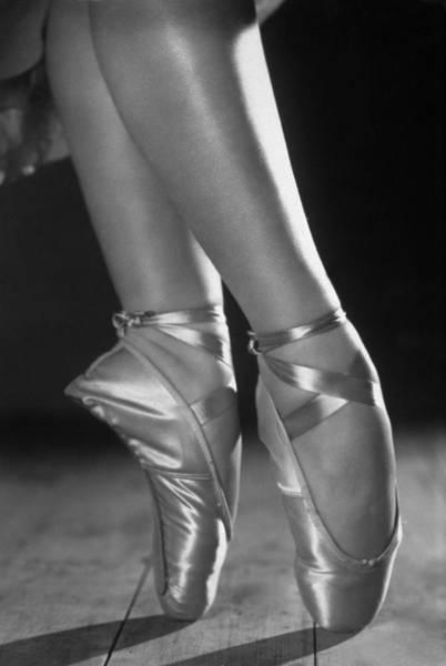 Shoe Photograph - Ballet Shoes by Sasha