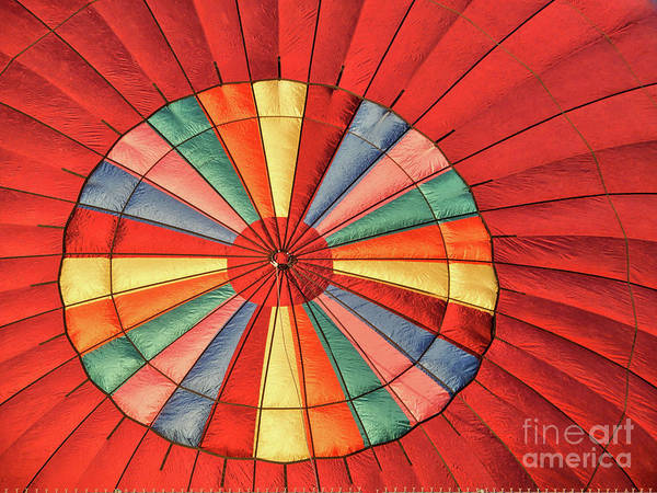 Photograph - Balloon Bullseye by Carol Groenen