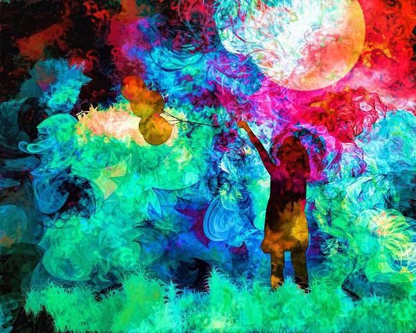 Wall Art - Painting - Balloon Fantasy by ArtMarketJapan