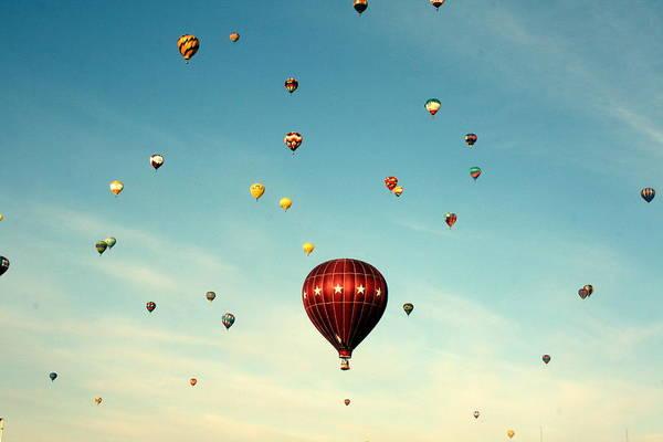 Celebration Photograph - Balloon Fiesta by Elizabeth O. Weller