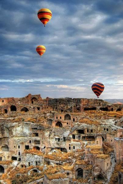 Cappadocia Photograph - Balloon Ride In Cappadocia by M.cantarero