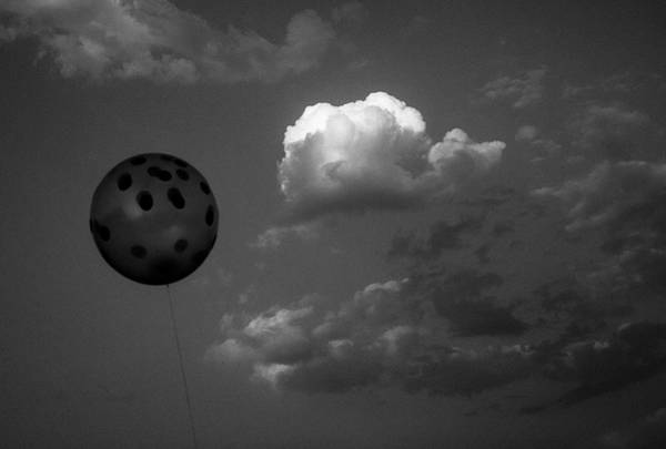 Photograph - Balloon Vs Cloud by Prakash Ghai