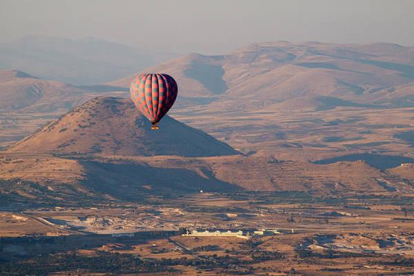 Cappadocia Photograph - Ballooning Over Cappadocia by Wu Swee Ong