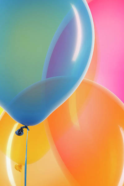 Photograph - Balloons Close-up by Paul Taylor