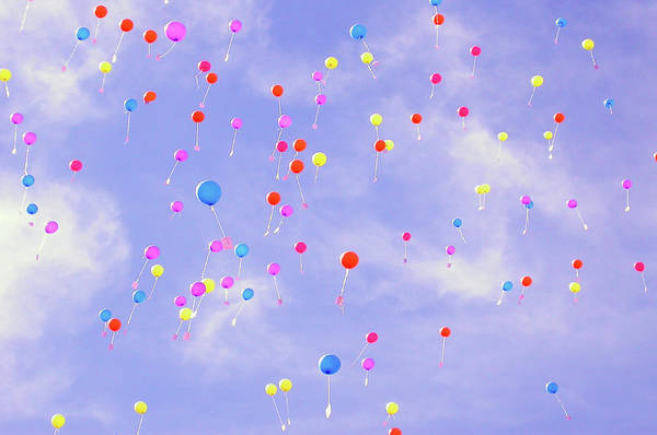 Photograph - Balloons by Fab