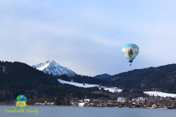 Photograph - Balloons Over Tegernsee by Wendy Payne Travel Writer
