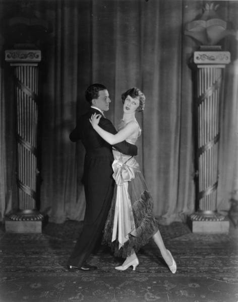 Heterosexual Couple Photograph - Ballroom Dance by Sasha
