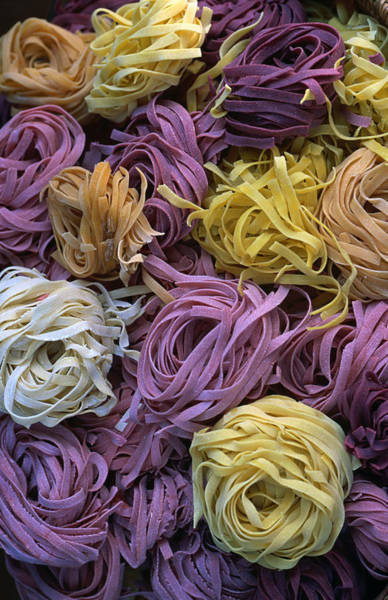 Ball Photograph - Balls Of Coloured Pasta From Vilasimius by Dallas Stribley