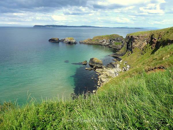 Wall Art - Photograph - Ballycastle Coastline by Kathryn Hewson