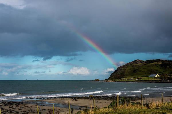 Photograph - Ballygally Rainbow by Susie Weaver