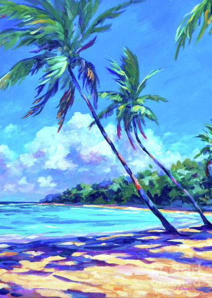 South Beach Painting - Balmy Breezes by John Clark