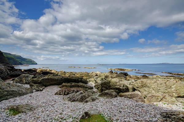 Loch Wall Art - Mixed Media - Balnahard Beach by Smart Aviation