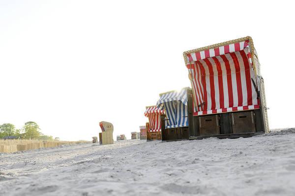 Wicker Chair Photograph - Baltic Sea by Axel Schmies
