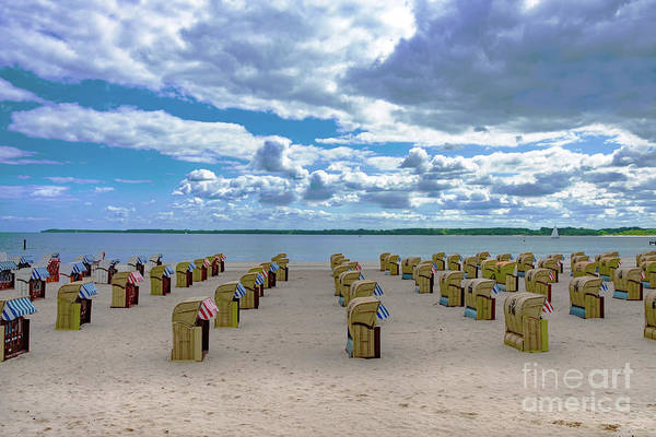 Photograph - Baltic Sea.empty Summer Beach by Marina Usmanskaya