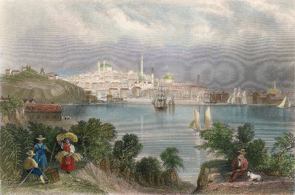 Painting - Baltimore, Maryland, 1839 by Granger