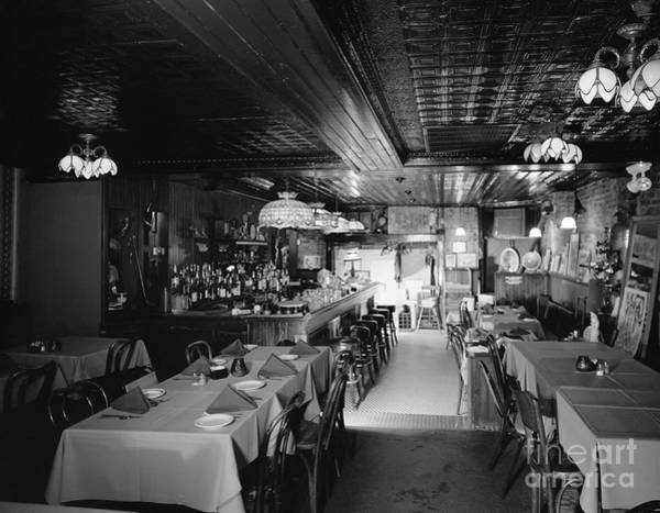 Photograph - Baltimore Restaurant by James Rosenthal