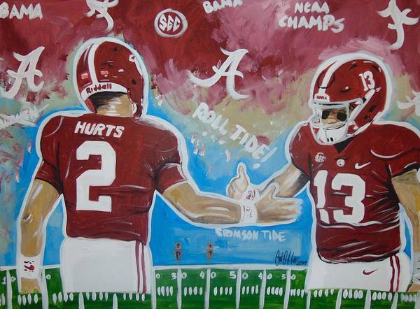 Painting - Bama Pride by Antonio Moore