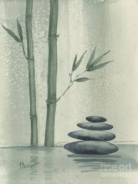Bamboo Painting - Bamboo Repose by Paul Brent