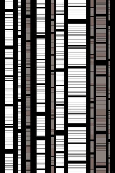 Digital Art - Bamboo - Vertical by Val Arie