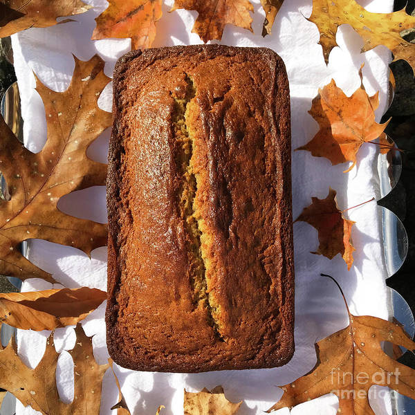 Wall Art - Photograph - Banana Bread With Rum, Ginger And White Whole Wheat by Amy E Fraser
