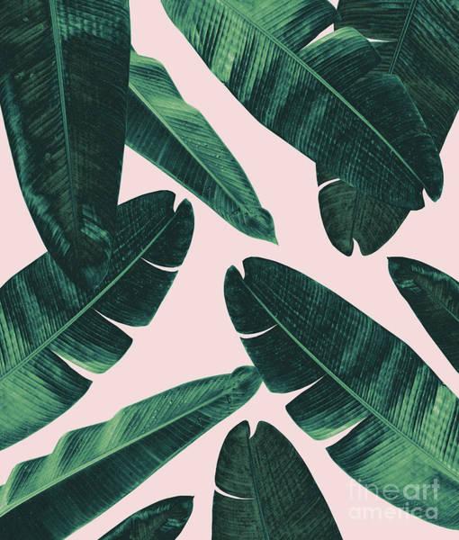 Banana Leaf Mixed Media - Banana Leaves - Cali Vibes #1 #tropical #decor #art by Anitas and Bellas Art