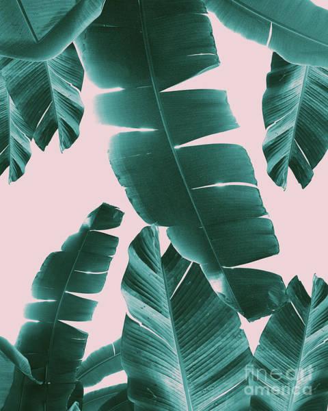 Banana Leaf Mixed Media - Banana Leaves Summer Vibes #1 #tropical #decor #art  by Anitas and Bellas Art