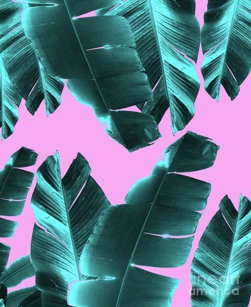 Banana Leaf Mixed Media - Banana Leaves Tropical Vibes #3 #foliage #decor #art by Anitas and Bellas Art