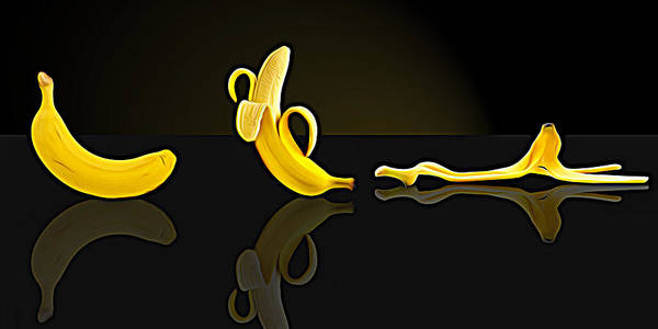 Photograph - Banana by Paul Wear