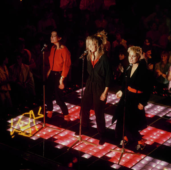 Photograph - Bananarama Performs On Stage by David Redfern