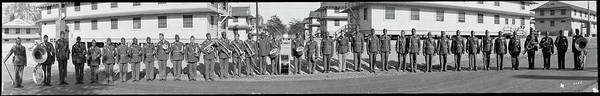 Wall Art - Photograph - Band, African Americans, Fort Belvoir by Fred Schutz Collection