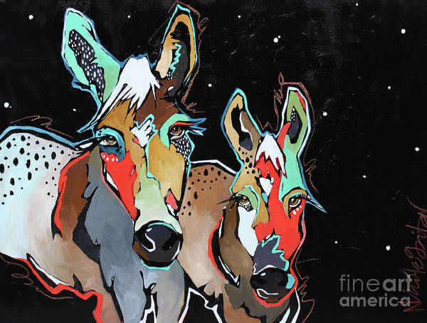 Painting - Banditos  by Nicole Gaitan