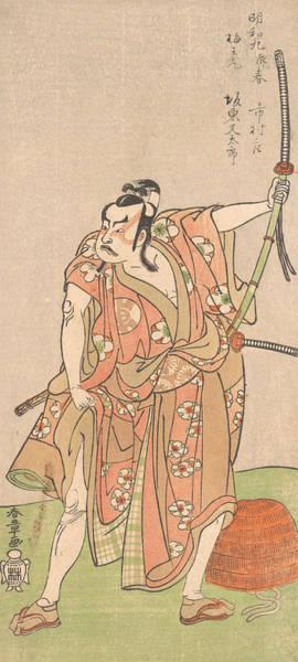Relief - Bando Matataro As Umewomaru In The Drama Sugewara Denju Tenarai Kagami by Katsukawa Shunsho
