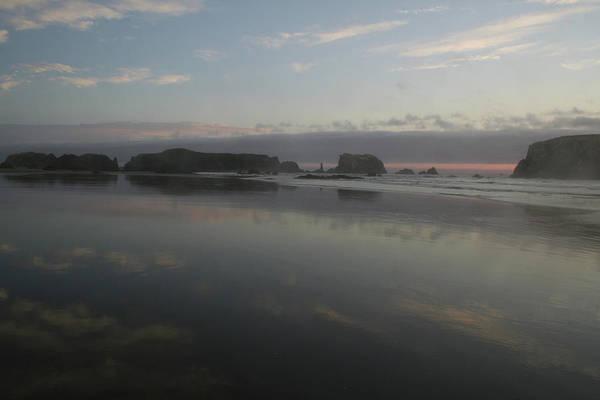 Photograph - Bandon Reflection Horizon by Dylan Punke
