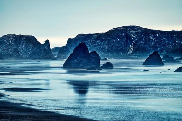Photograph - Bandon Sea Stacks Dawn - Oregon by Stuart Litoff