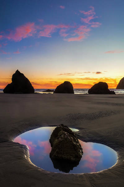Wall Art - Photograph - Bandon Tide Pool by Andrew Soundarajan