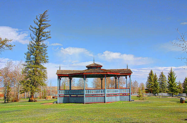 Camera Raw Photograph - Bandstand, Fort Bridger by Brenton Cooper