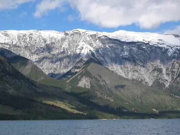 Digital Art - Banff 2007 Trip Tour Boat-2 by Doug Morgan