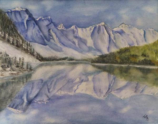 Wall Art - Painting - Banff   by Kelly Mills
