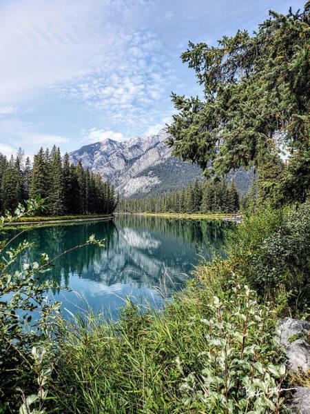 Wall Art - Photograph - Banff Reflections by Becky Galen