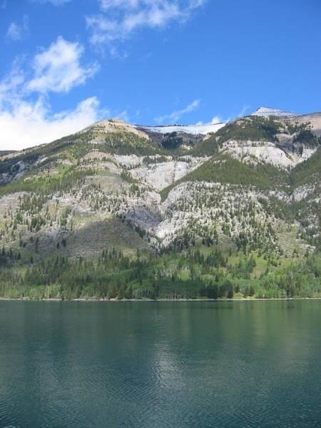 Photograph - Banff Trip 2007 Boat Tour-3 by Doug Morgan