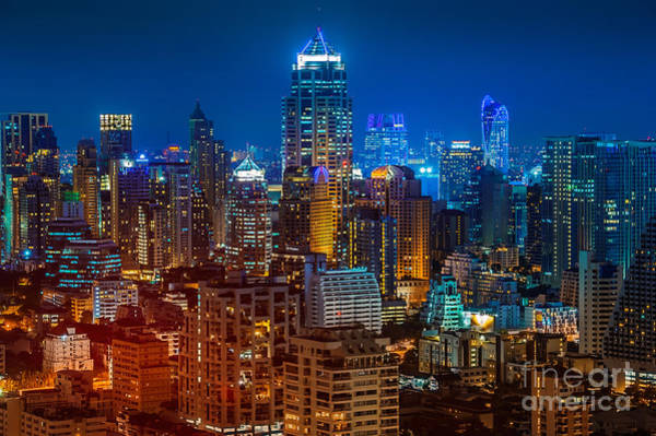 Wall Art - Photograph - Bangkok Night by Mr renderman