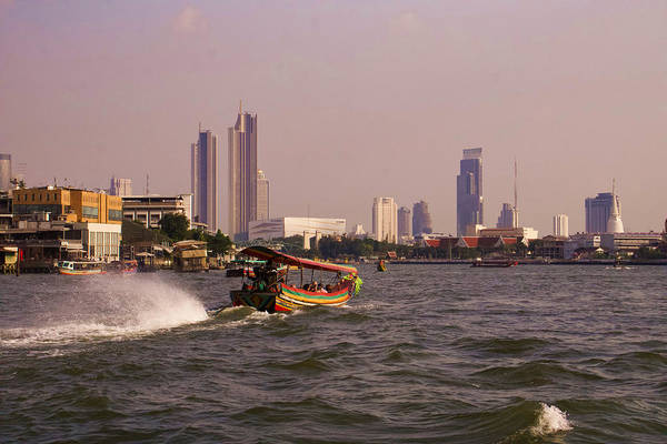 Wall Art - Photograph - Bangkok River Skyline by Andrew Hill
